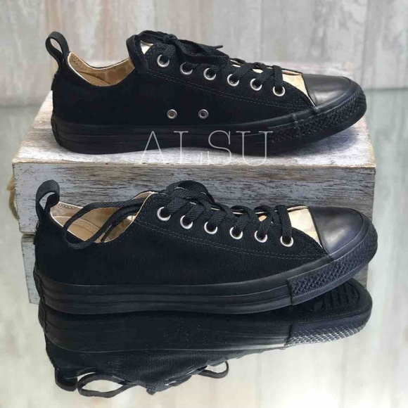 Converse Shoes - NWT Converse Ctas OX Black Light Twine W AUTHENTIC